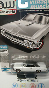 Auto World Muscle Truck 1966 Chevy Chevelle SS 396  (NG100)