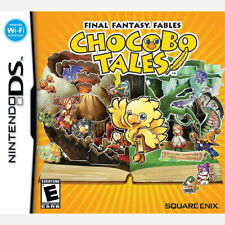 Final Fantasy Fables - Chocobo Tales  NTSC-U/C US USA NINTENDO DS COMPLETE  NDS