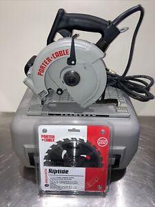 "Porter Cable Model 743 7 1/4"" Heavy Duty Circular Saw wcase"