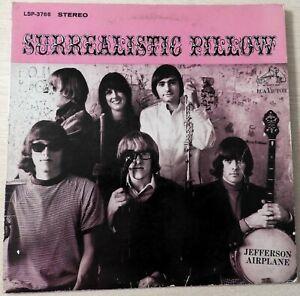 JEFFERSON AIRPLANE Surrealistic Pillow ORIGINAL STEREO LP RCA LSP 3766