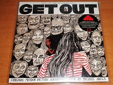 WAXWORK - GET OUT SOUNDTRACK - TEA CUP WHITE & BLUE MARBLED - SUB VARIANT - 2XLP