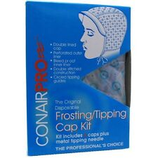 Conair Pro The Original Disposable Frosting/Tipping Cap Kit 4 ea (Pack of 3)