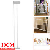 10cm Extension Safety Gate Baby Door Child Toddler Pet Walk Door with Lock Pet