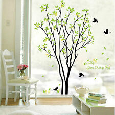 Removable Vinyl Tree Wall Sticker Nursery Art PVC Poster For Home Decoration