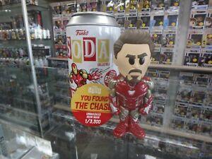 Funko Soda! Figure, Marvel, Unmasked Iron Man Chase! 3,300 Pc. New!