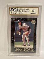 1992 Fleer Ultra All-Stars #3 Cal Ripken Jr. Baltimore Orioles HOF FGA 10 GEM 💎