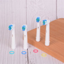 4pcs Electric Toothbrush Heads Replacement for Oral B SB-17A Soft BrushECN