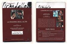 Dvd Il teatro di Pirandello LA RAGIONE DEGLI ALTRI Andrea Camilleri Lina Sastri