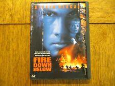 Fire Down Below - Steven Seagal, Kris Kristofferson 1997 Warner DVD VERY GOOD!!!