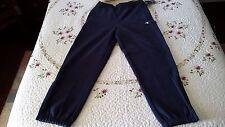 Champion Super Mens Fleece Pants, Size Large, Navy