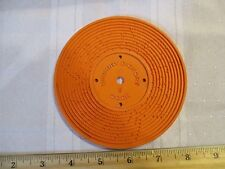 Fisher Price Record Player Vintage 995 orange Hickory Dickory Dock Edelweiss 5