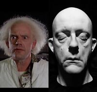 """Christopher Lloyd Life Mask Life Cast """"Great Scott!"""",Back to the Future !! Rare"""