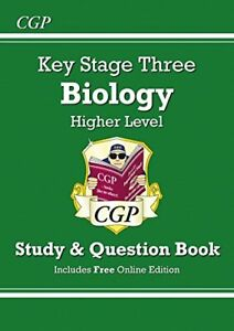 KS3 Biology Study & Question Book - Higher (CGP KS3 Science) by CGP Books Book