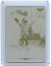 2020 Topps WWE Undisputed BUDDY MURPHY #7 ONE of ONE PRINTING PLATE 1/1