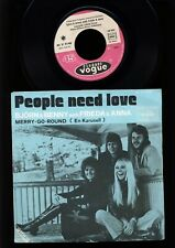ABBA - Björn & Benny with Frieda & Anna - People Need Love - 7 Inch FRANCE