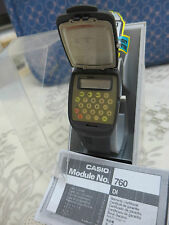 CASIO FLIP TOP CON CALCOLTRICE BIANCO WHITE  NUOVO WATCH CALCULATOR RARE !!!
