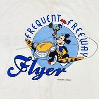 VTG Disneyland Cast Member Carpool Mickey Roger Rabbit Ride Share RARE • Large