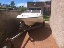 Fletcher Arrow Sportsboat speed boat 17ft Mariner 90HP