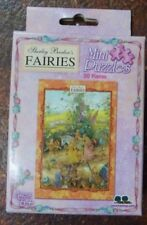NIP Shirley Barber's Fairies Mini Puzzle 50 Pieces Christmas Stocking Filler
