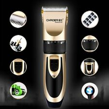 Professional Men Hair Clippers Trimmers Cutting Machine Cordless Beard Shaver UK