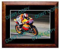 CASEY STONER 2011 HONDA MOTO GP STAR LARGE A3 PHOTO 2