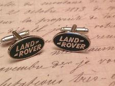 Land Rover Manschettenknöpfe Silber in Verpackung Sammel- NEU OVP Schutz