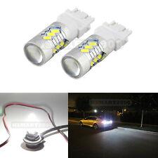 2PCS 3157 LED White Bulbs 15SMD 5730 for Brake Tail Light - 3156 3057 3056 4157