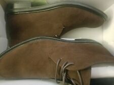 Men's Brown Ankle Boots Alfani Size11 New