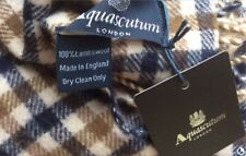 AQUASCUTUM SCARF BRAND NEW WITH TAGS 100% LAMBSWOOL