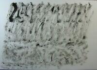 Sergio Sermidi,Große Papierarbeit,Tempera,signiert, datiert,Struktualist, 92,III