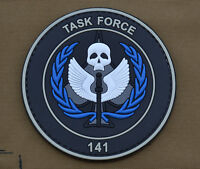"PVC / Rubber Patch ""Task Force 141"" with VELCRO® brand hook"