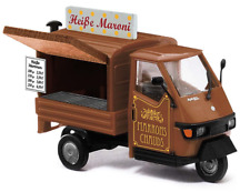 Busch 48495 Piaggio Ape 50 Hot Chestnut Cart OO Gauge
