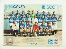 "vintage 1983 VANCOUVER WHITECAPS soccer roster team photo promo poster 16x12"""