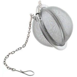 Stainless Steel Tea Ball Mesh Infuser - BUY 1 - GET 1 FREE (2 inch Diameter)