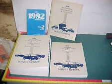 1992 FORD BRONCO F-SUPER DUTY F150 F250 F350 ECONOLINE SERVICE MANUAL SET xlnt