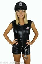 SEXY ADULT NAUGHTY POLICE COP DEFENCE FORCE UNIFORM UNDER ARREST COSTUME 6 - 10