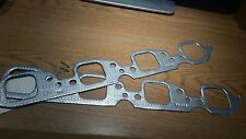 Chevy Big Block Exhaust Manifold Gaskets, Square Port, Set of 2