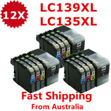 12X Ink Cartridge LC139XL LC 135XL 139XL For Brother MFC J6520DW J6720DW J6920DW