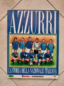 """Album figurine """"Azzurri"""" completo Suppl.Guerin Sportivo Kinder e Ferrero 1993"""