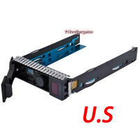 "651314-001 Gen8 Drive Caddy 3.5"" Tray FOR HP ProLiant DL380p DL360p DL385 G8 G9"