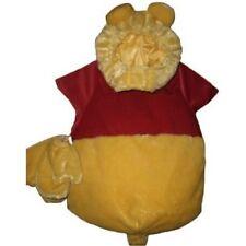 DISNEY Winnie the POOH Plush Costume mittens booties 6 9 12  6-12 mo Halloween
