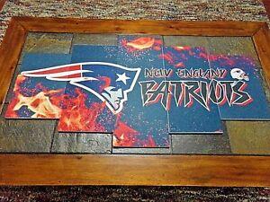 Large 5 Piece New England Patriots Styrofoam Wall Art