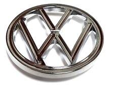 HOOD EMBLEM FRONT VW 3 PRONG FITS VOLKSWAGEN TYPE1 BUG 1960-10/1962