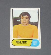 A & BC GUM CARD FOOTBALL ENGLAND 1969 FRED KEMP SOUTHAMPTON SAINTS
