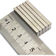 70pcs 40 mm x 10 mm x 3 mm TERRE RARE progetto fai da te Forti Magneti al neodimio Block