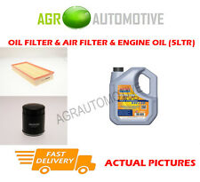 PETROL OIL AIR FILTER KIT + LL 5W30 OIL FOR SAAB 9-3 2.0 205 BHP 1999-02