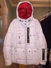 MEDIUM LARGE XL BOGNER MENS WHITE DOWN SKI SNOWBOARD WINTER JACKET COAT SNOW