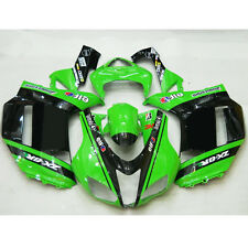 HI Motorcycle Bodywork Fairing ABS Painted Set For ZX 6R Ninja 2007 2008 (C)