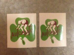 Automoto Clover Rider Saint-Étienne France Decals HG Vinyl Vintage Repro set 2