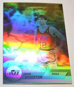 John Stockton 1992-93 Upper Deck Hologram STEALS Basketball Card BV$$